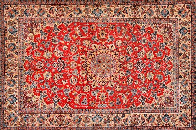 Orientalische persische teppichbeschaffenheit