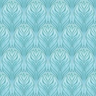 Orientalisches nahtloses blaues muster. abstrakter hintergrund. drucken sie für geschenkpapier, textil, stoff, mode, karten, hochzeitseinladungen