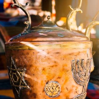 Orientalisches teekonzept