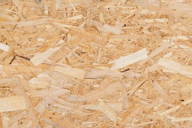 Orientierte strandplatte. spanplatten baumaterial hintergrund