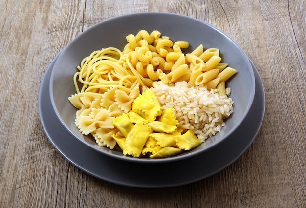 Original italienisches nudelgericht