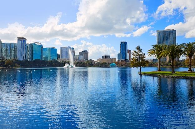 Orlando-skyline von see eola florida us