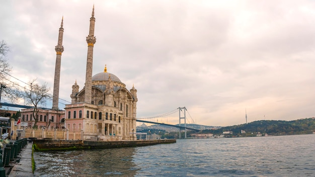Ortakoy moschee istanbul, die türkei