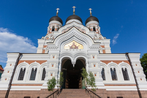 Orthodoxe alexander-newski-kathedrale in tallinn