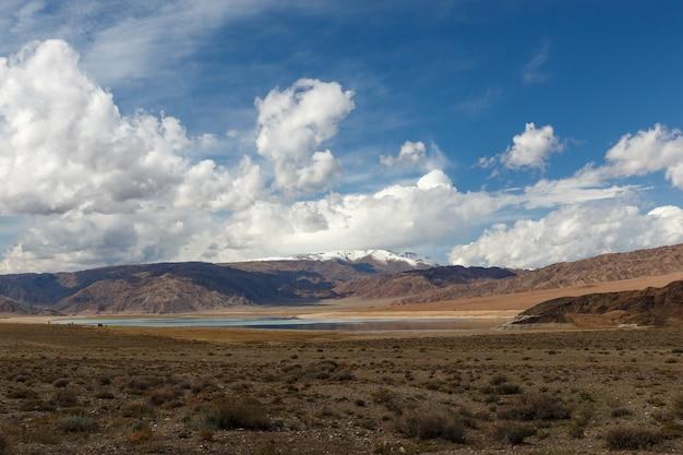 Orto tokoy reservoir in kirgisistan