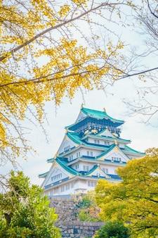 Osaka burg in osaka japan