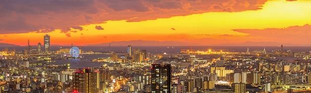 Osaka skylines