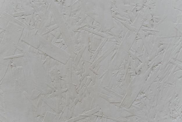 Osb sperrholz gepresstes holz in weiß lackiert