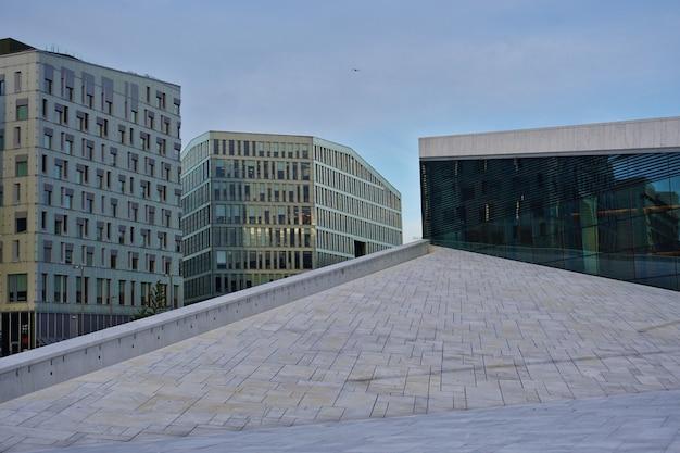 Osloer opernhaus, entworfen von snohetta.