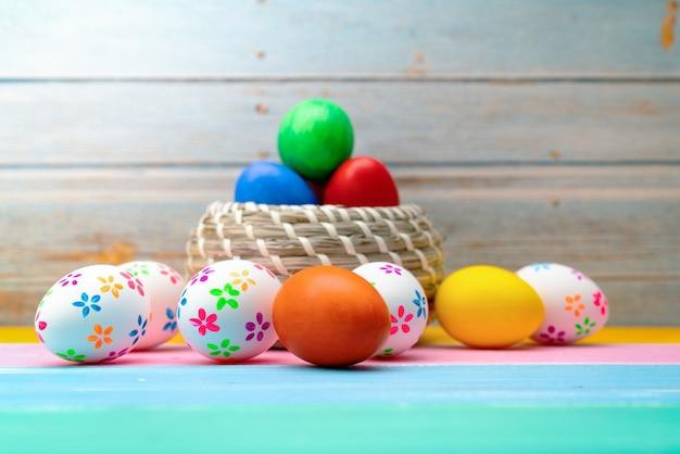 Osterei, fröhliche ostersonntag jagd feiertagsdekorationen