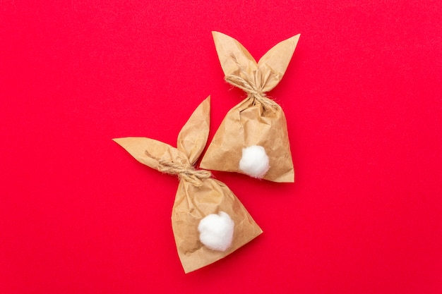Osterhasen-papiergeschenktüten