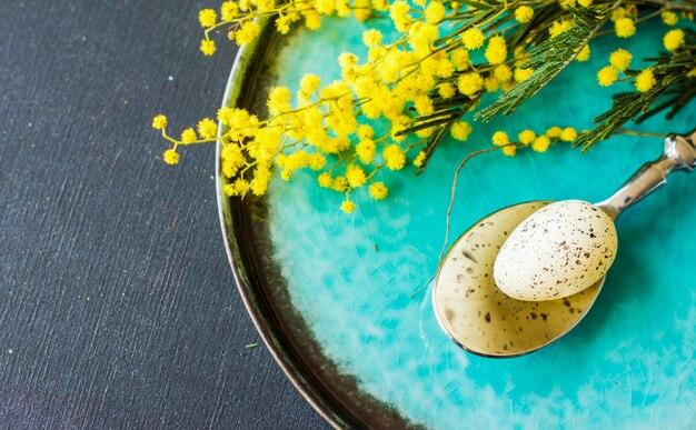Ostern festliches konzept