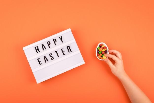 Ostern zusammensetzung, grußkarte