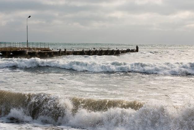 Ozean festmachen