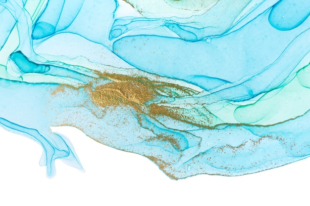 Ozeanart-aquarellbeschaffenheit