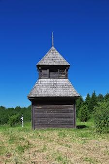 Ozertso-dorf in weißrussland-land