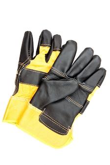 Paar handschuhe des erbauers
