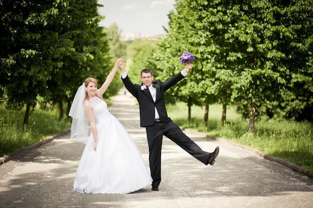 Paar hintergrund verheiratet blume wald