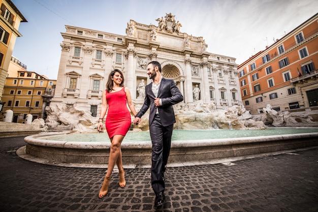 Paar in rom