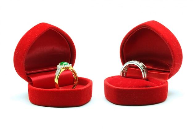 Paare von ring