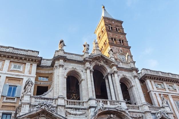 Päpstliche basilika santa maria maggiore basilika santa maria maggiore auf der piazza di santa maria maggiore