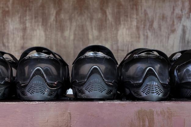 Paintball extremsport schutzausrüstung masken