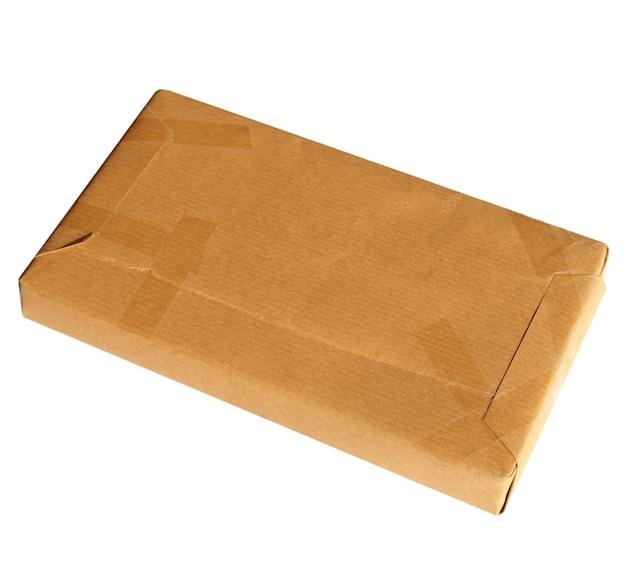 Paket aus wellpappe