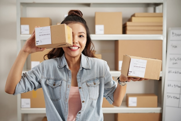 Pakete für kunden