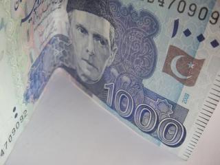 Pakistanische rupie tausend