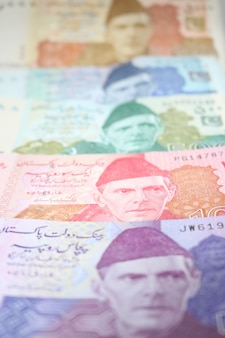 Pakistanische währung mix note bündel