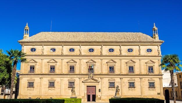 Palacio de las cadenas oder vazquez de molina palast in ubeda, spanien