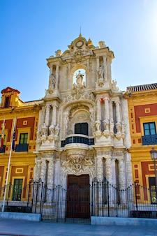 Palacio de san telmo, sevilla, andalusien, spanien