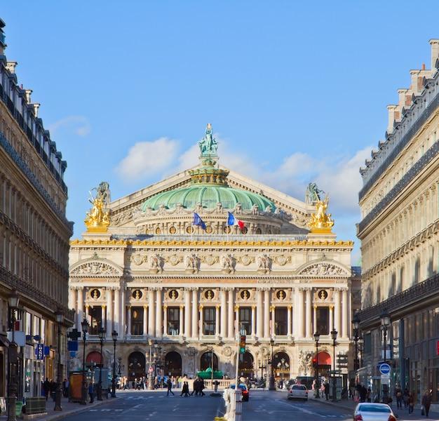 Palais garnier - opernhaus von paris, frankreich