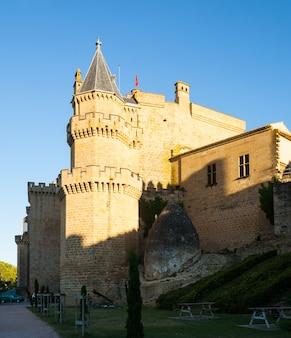 Palast der könige von navarra bei olite