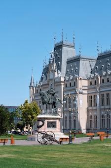 Palast der kultur in iasi, rumänien