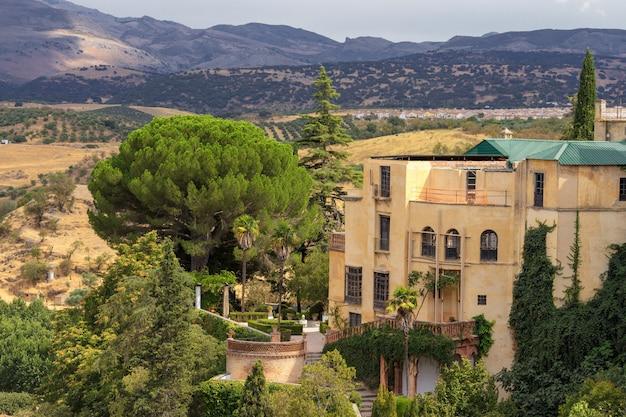 Palast des maurischen königs in ronda