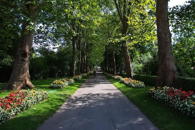 Palast und park in ludwigsburg, deutschland