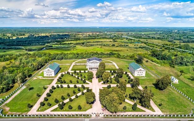 Palast von kyrylo rozumovskiy in baturyn, oblast tschernihiw der ukraine