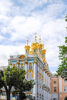 Palast von tsarskoye selo in st petersburg