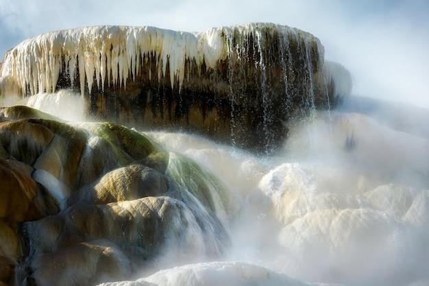 Palette spring im yellowstone-nationalpark