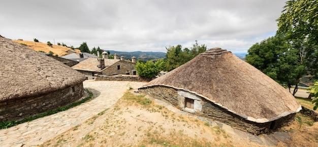 Palloza traditionelle spanische nordwestwohnung