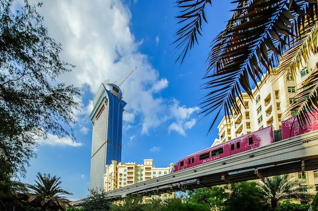 Palm island apartments, ittehad park und einschienenbahn, palm jumeirah