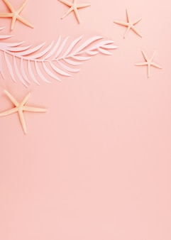 Palmblätter zum papierschneiden