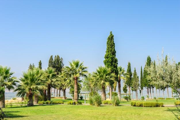 Pamukkale-erholungsort, die türkei