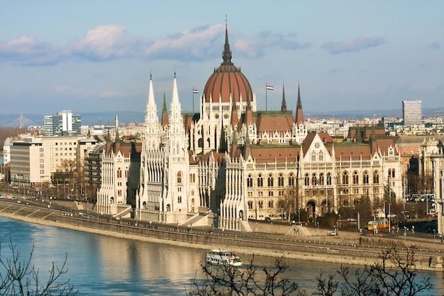 Panorama am parlament, budapest. ungarn