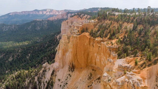 Panorama auf zion canyon national park
