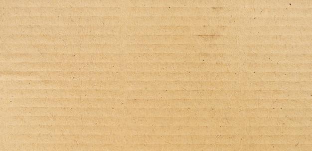 Panorama des braunen papiers textureand hintergrund und beschaffenheit mit kopienraum