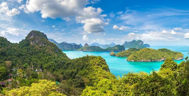 Panorama des mu ko ang thong nationalparks, thailand