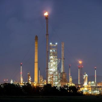 Panorama-erdölraffinerieanlage