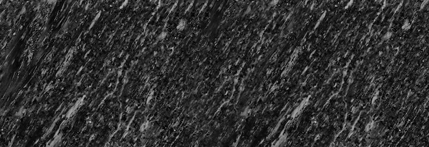 Panorama schwarzer steinmarmorwandmusterhintergrund für design in ihrer arbeit.